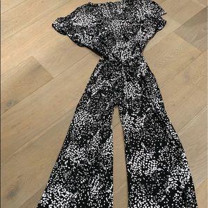 The Limited Jumpsuit Black & white dots PXL